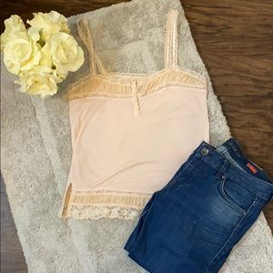 Anthropologie Zoey Lace Camisole Size Small